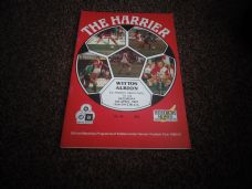 Kidderminster Harriers v Witton Albion, 1990/91 [FAT]